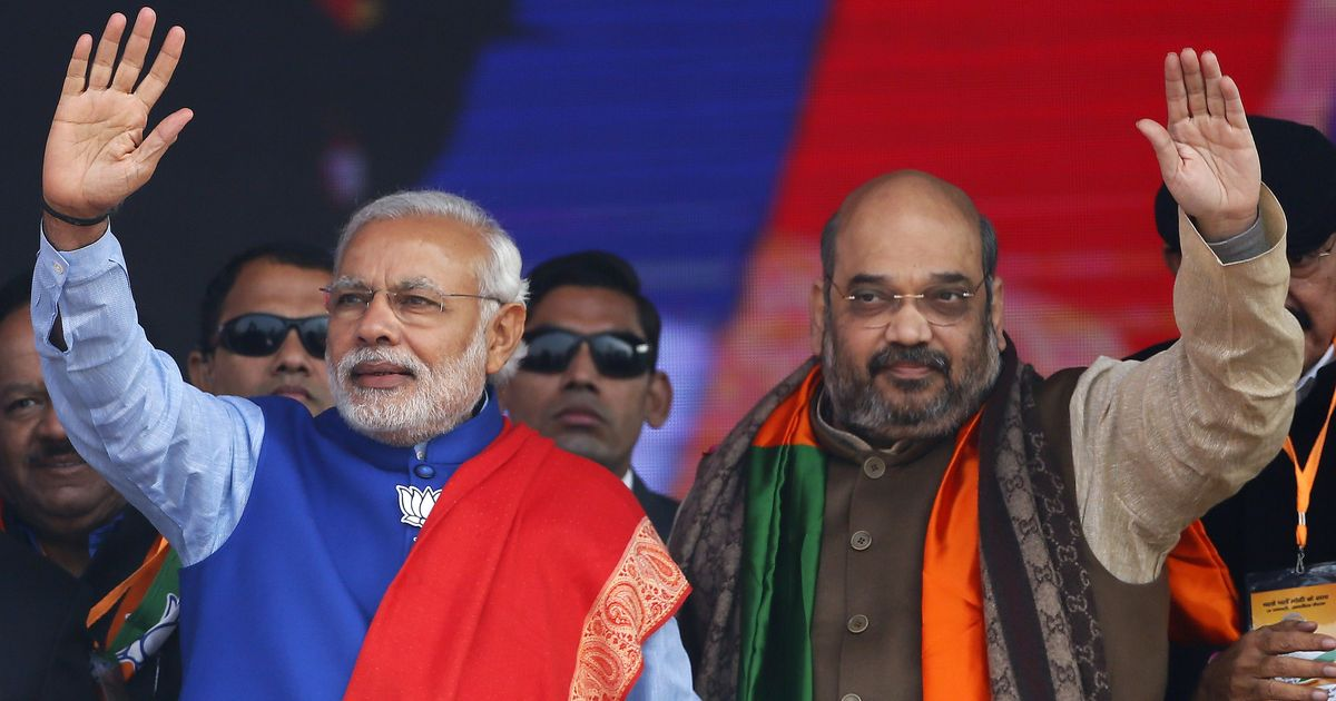 Elections 2019: 'India wins yet again,' says PM Modi; Amit Shah denounces Opposition's 'lies'