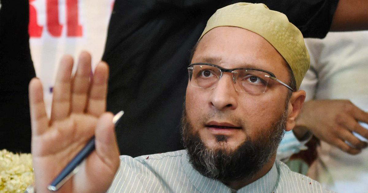Asaduddin Owaisi lashes out at Union minister after he calls Hyderabad a 'safe zone for terror'