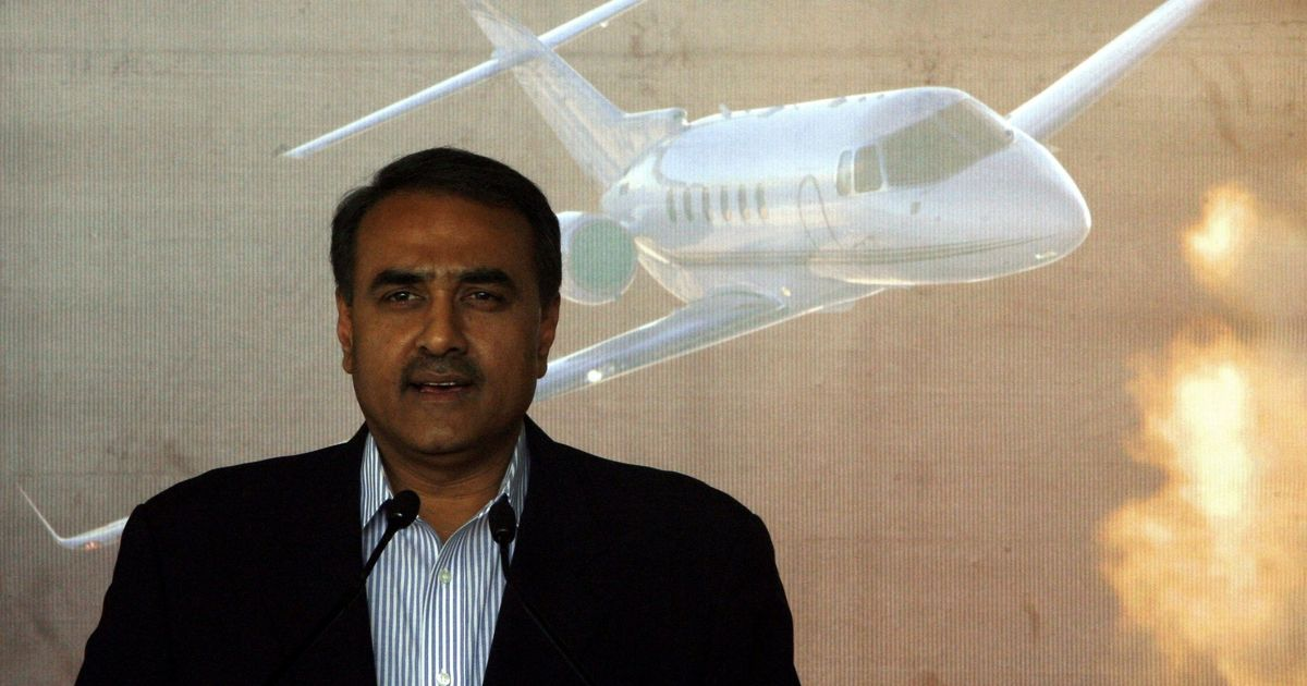 Former minister Praful Patel appears before ED for questioning in alleged aviation scam