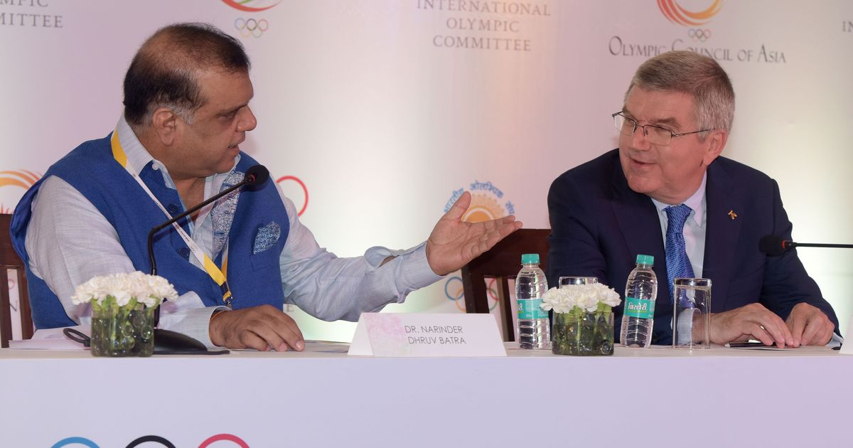 IOA boss Narinder Batra elected to International Olympic Committee