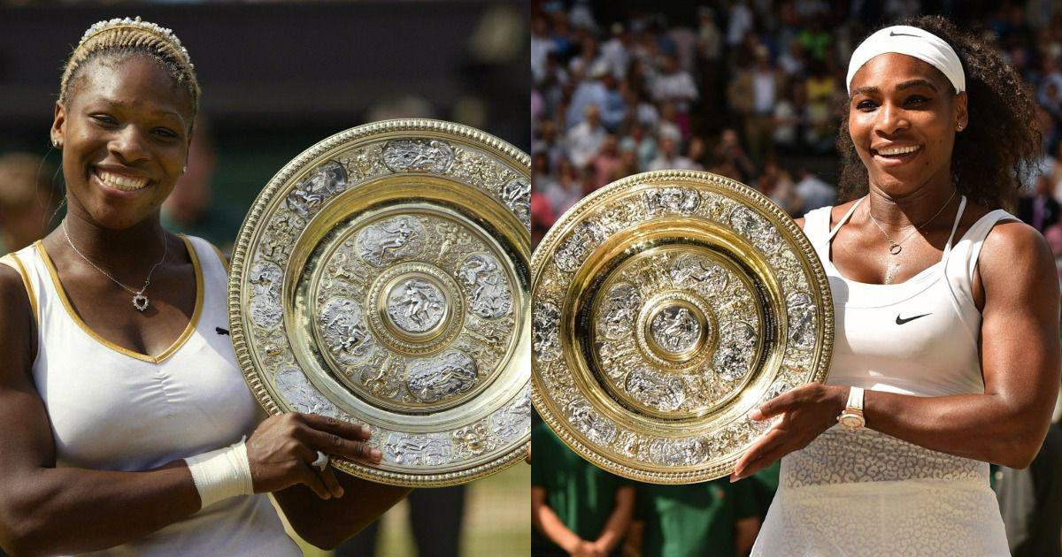 Watch: From 2002 to 2016 – the seven Wimbledon titles of Serena Williams