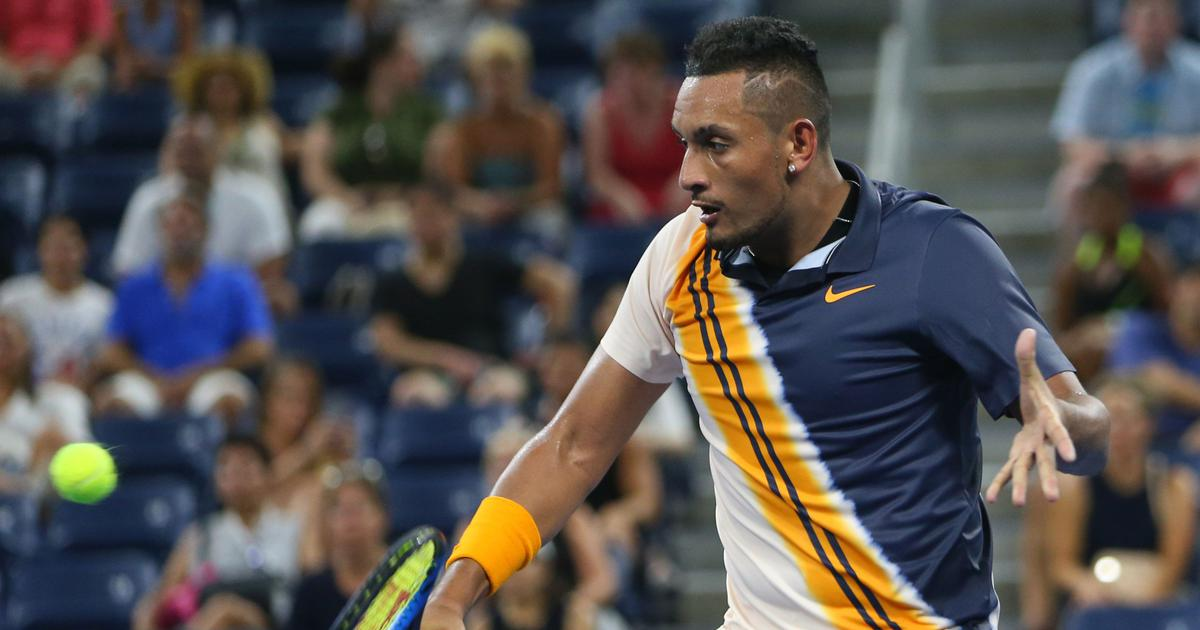 Tennis: Nick Kyrgios crashes out of Rogers Cup after first round loss to Kyle Edmund; Cilic survives