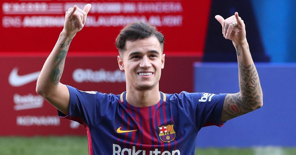 Bayern Munich agree season-long deal for Barcelona midfielder Philippe Coutinho