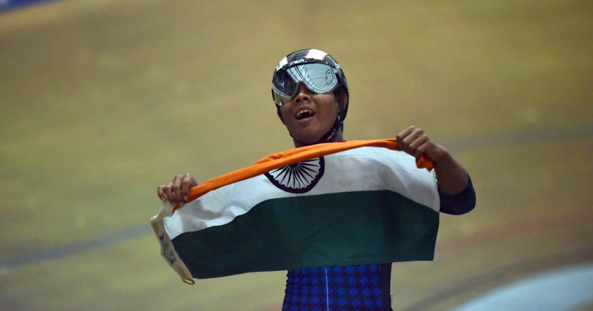 Esow Alben wins silver in individual sprint at UCI World Junior Track Cycling Championship