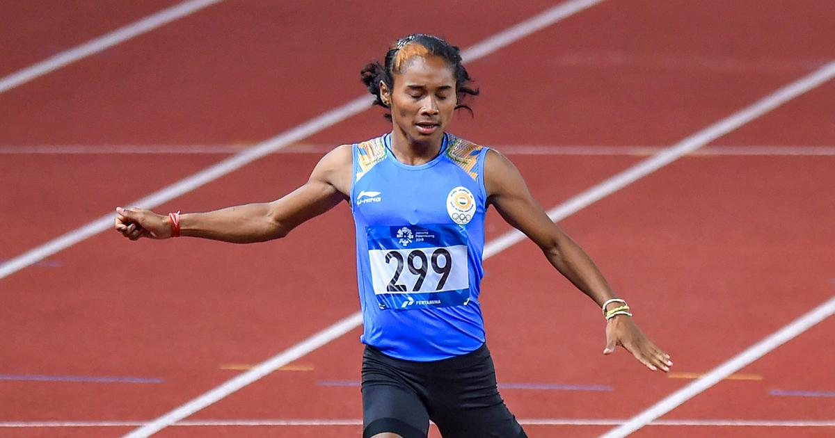 Athletics: Hima Das, Mohammad Anas clinch gold in 300m at Czech Republic event
