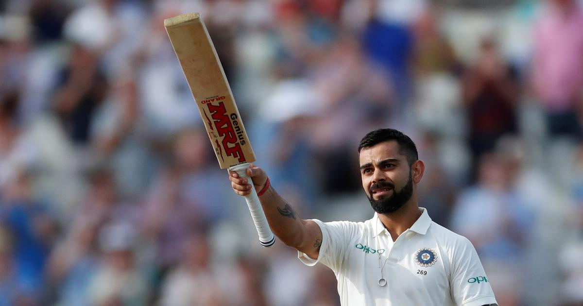 Kohli in conversation with Viv Richards: Getting hit by a bouncer motivates me to play it better