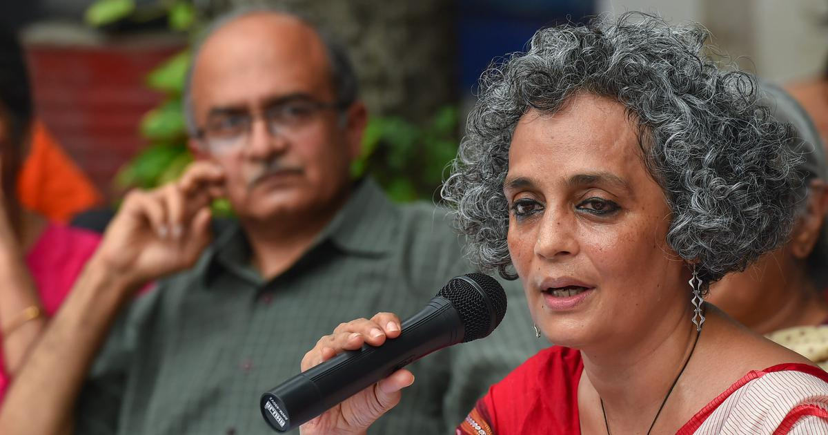 Arundhati Roy apologises for 2011 video of her comparing Pakistani and Indian Armies: ThePrint