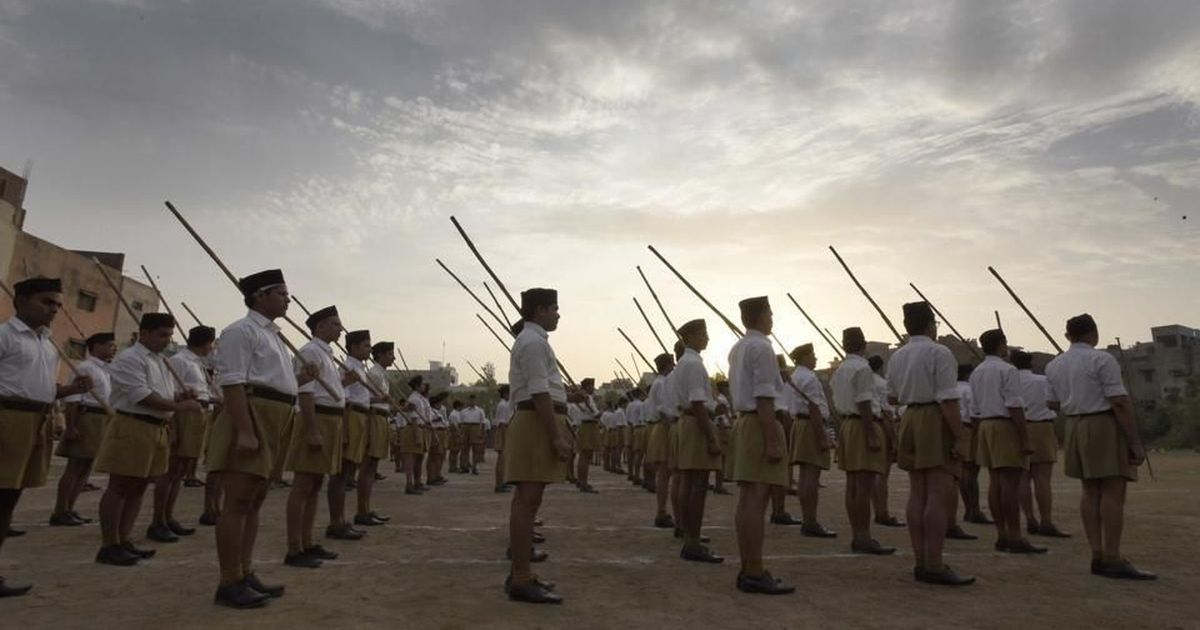Why is the RSS's brand of humanitarian work or 'seva' so easily accepted in 'secular' India?