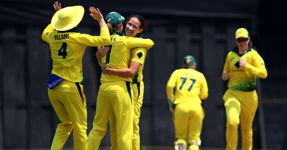 Australian Megan Schutt becomes first woman to claim two white ball hat-tricks