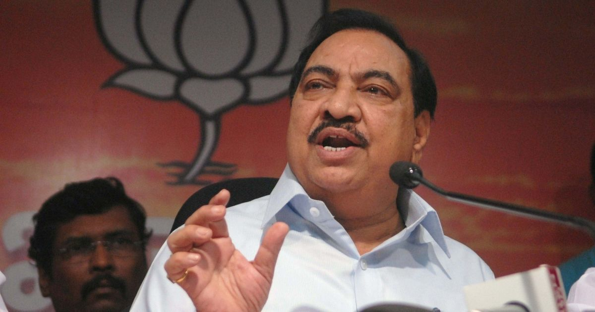 Maharashtra elections: BJP drops Eknath Khadse in fourth list but fields his daughter