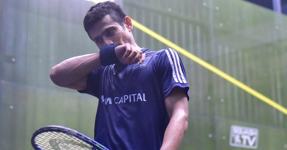 Squash World Championship: India's Saurav Ghosal enters second round