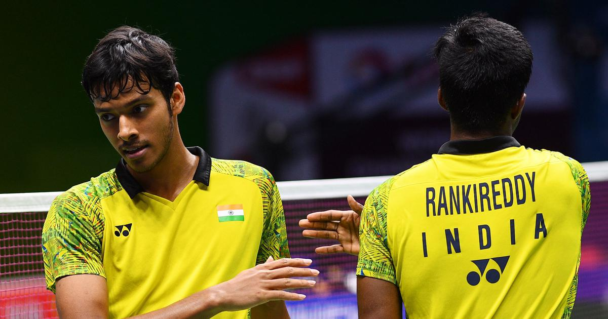 Badminton: India's Satwik-Chirag achieve career-best BWF ranking of No 7 after recent surge