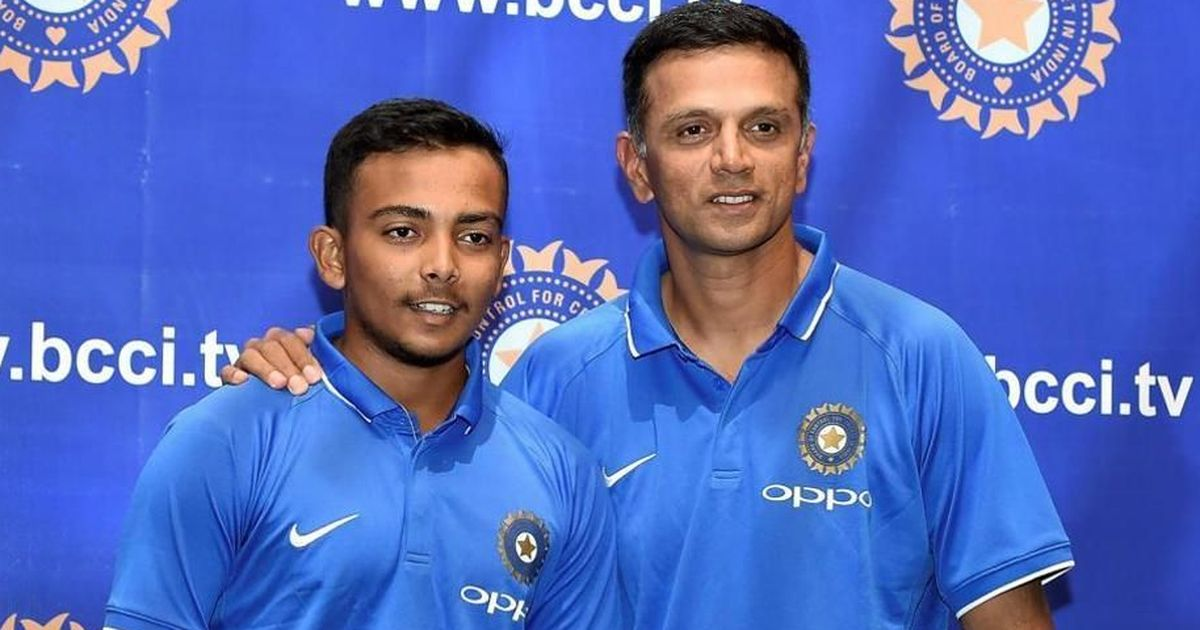 Rahul Dravid was always there for guidance, says Prithvi Shaw after comeback from doping suspension