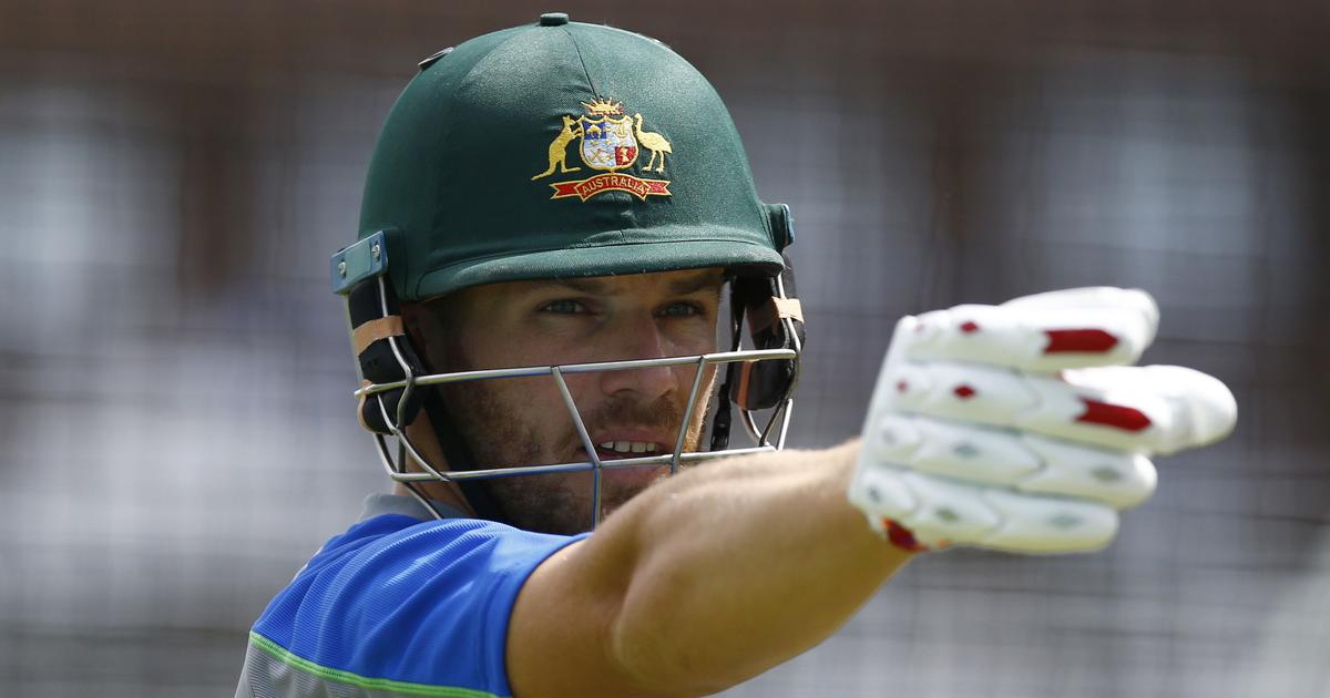 Concussion substitute needed after Aaron Finch takes a blow to head during Sheffield Shield match