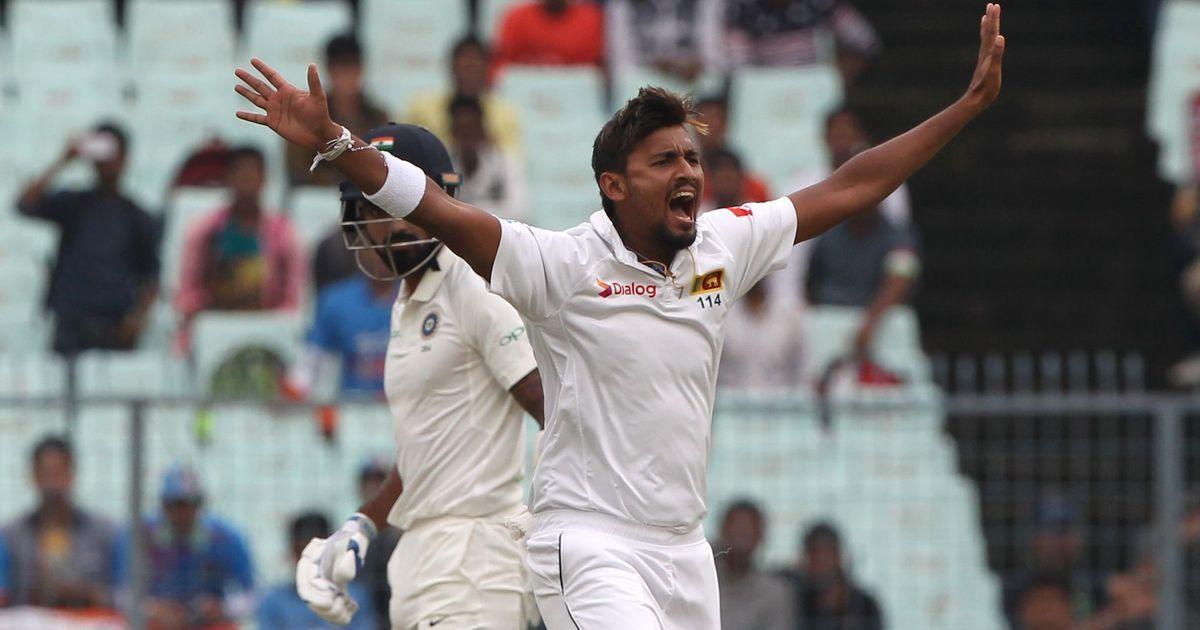 Cricket: Suranga Lakmal to miss Sri Lanka's Test tour to Pakistan due to dengue