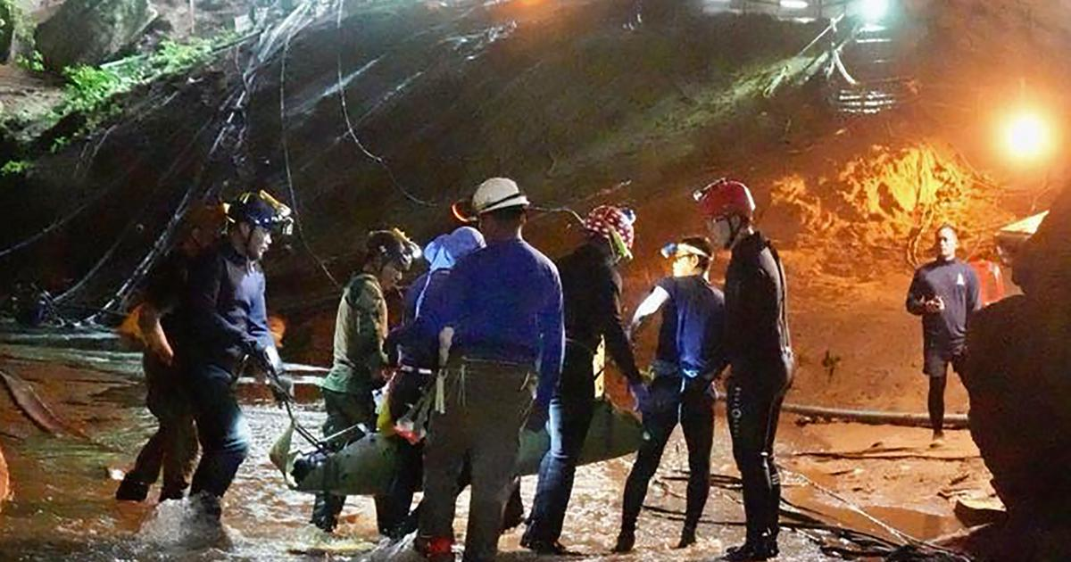 Thailand cave incident: Navy officer dies of infection he got while rescuing 12 boys, football coach