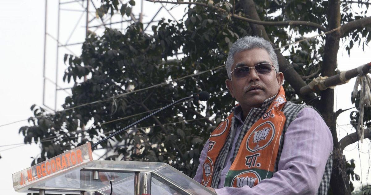 West Bengal: CAA protestors damaging property will be 'shot like in UP,' warns BJP chief Dilip Ghosh