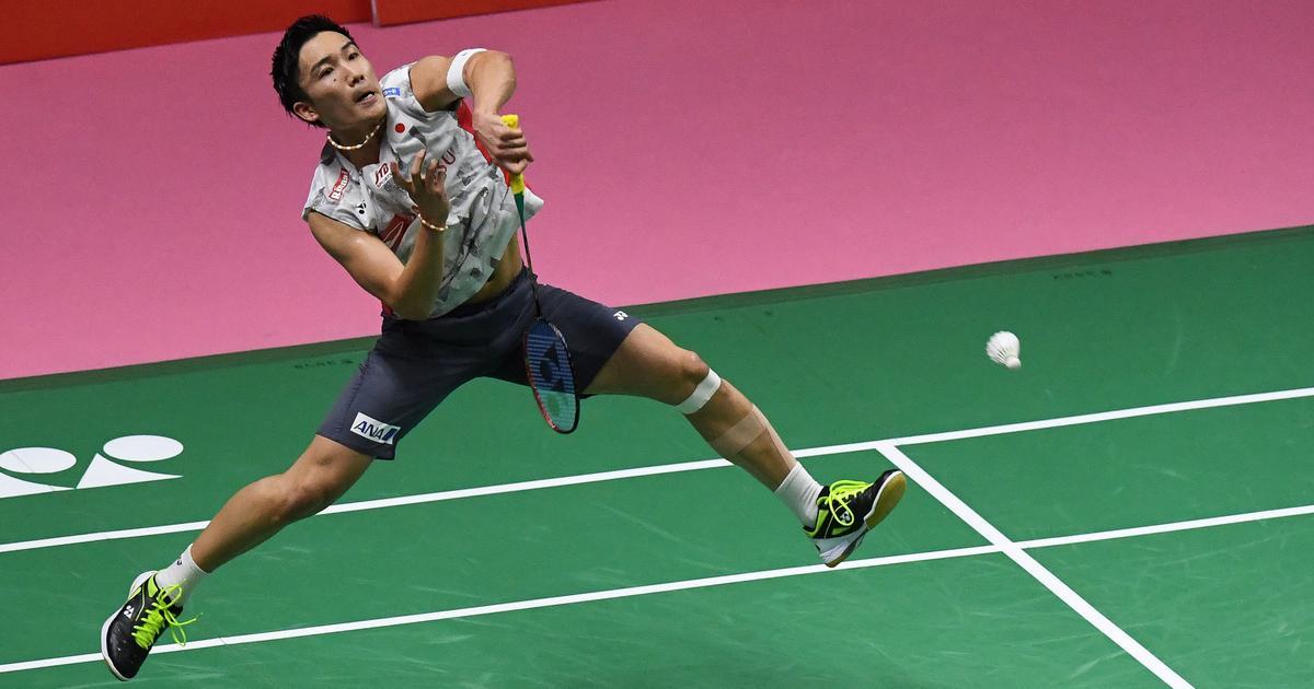 Badminton world number one Momota hurt in Malaysia crash: report