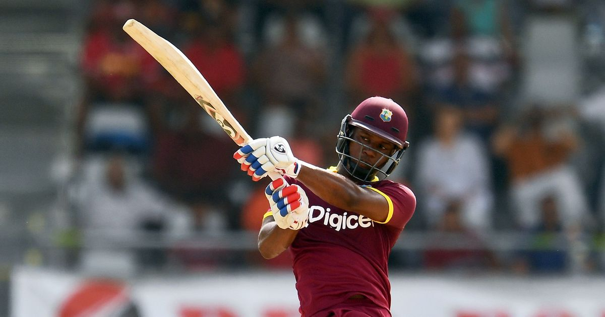 Third ODI: Evin Lewis century helps West Indies complete series sweep against Ireland