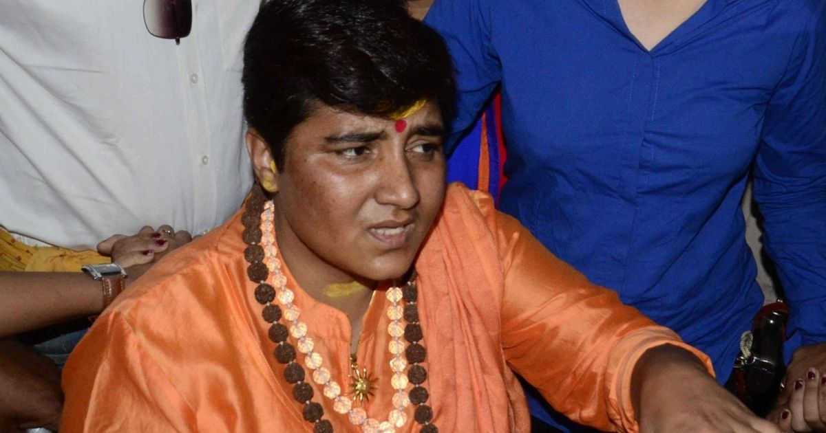 Pragya Thakur alleges poisonous chemicals were sent to her by post, police register case