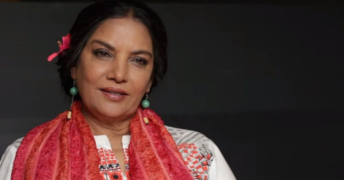 Actor Shabana Azmi injured in car accident on Mumbai-Pune Expressway