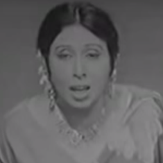 Who can sing 'Dasht E Tanhai' better than Iqbal Bano?