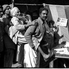 Rare images of independent India's first general election in 1952