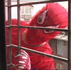 Meet Spiderman Sharma, the candidate running a window-to-window campaign