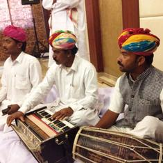 Pinched for funds, Jaswant Singh gets help from unlikely quarter: Rajasthan's Manganiyar musicians