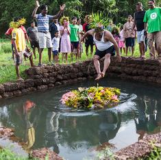 Goa's feast of São João has wild flowers, feni – and jumping into wells