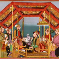 What if Mughal miniature paintings were set in modern times?
