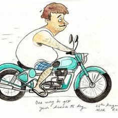 Hauz Khas hipsters, Def Col dudes and other denizens immortalised by a Delhi artist