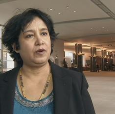'Lajja' reminds Bangladesh that it failed to protect Hindus: Taslima Nasrin
