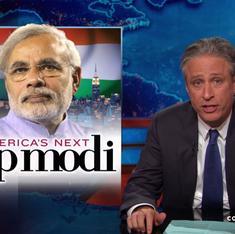 Who will be America's top Modi, asks US host Jon Stewart