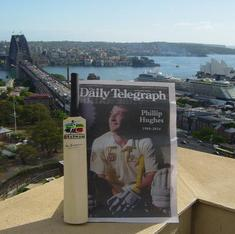 Twitter pays a moving tribute to Phillip Hughes with #PutOutYourBats
