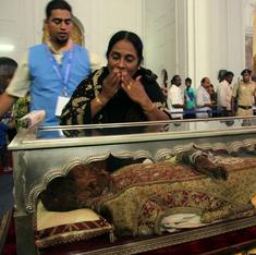 Catholics adopt practices of Hindu varkari pilgrims to keep date with St Francis Xavier in Goa