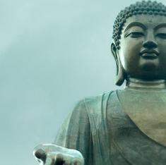 'The Buddha was a very wise man, but a man'