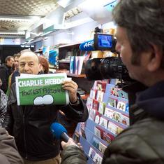 New issue of Charlie Hebdo made me smile, but also reminded me of the challenges faced by France