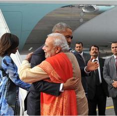 In election season, media is helping BJP make the most of Obama visit
