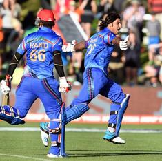 Guts, guile and bloody-mindedness: how Afghanistan clinched their maiden victory at World Cup