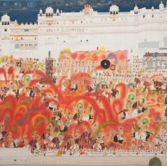 These miniature paintings show how the Mughals and other Indians royals celebrated Holi