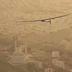 Not just sun: yoga powers first solar plane attempting to fly around the world
