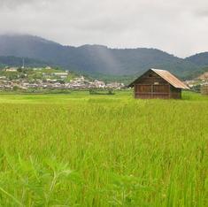 What brought the original James Bond to Upper Assam after World War II