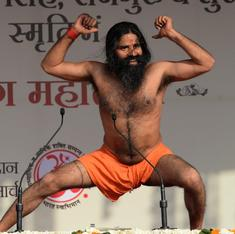 What else does Ramdev get in addition to cabinet-minister status in Haryana?