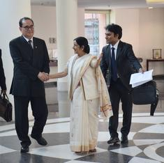 Why is US pleased with India's outreach to North Korea?