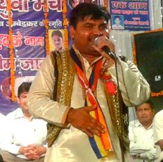 A charismatic singer spreads Ambedkar's message, one sleepless night at a time