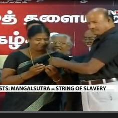 In Tamil Nadu, rationalists find scant political support for beef banquet, mangalsutra-removal fest