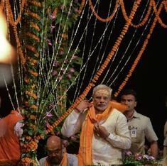 A Varanasi MLA is attempting to steal Modi's development narrative