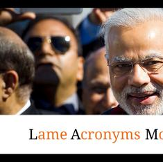 P2G2 to ABCD to G-All: A look back at Narendra Modi's first year through his acronyms