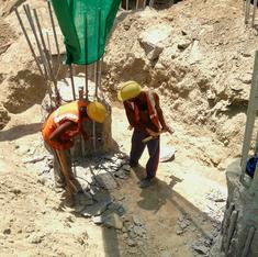 In Delhi's harsh summer, Metro workers forgo safety for respite